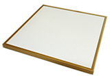 250 watts metal gold frame